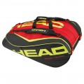 Tenisový bag HEAD Extreme 12R  Monstercombi black/red