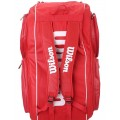 Tenisový bag Wilson TOUR V15 Pack Red 2016