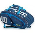 Tenisový bag Wilson Tour V9 Pack Blue 2017