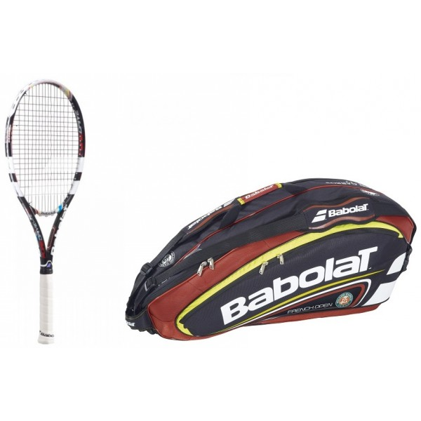 tenisov raketa babolat pure drive lite french open 2013 bag babolat team french open x6. Black Bedroom Furniture Sets. Home Design Ideas