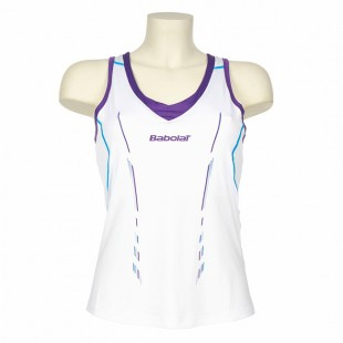 Babolat Tank Woman Performance 2014 - white