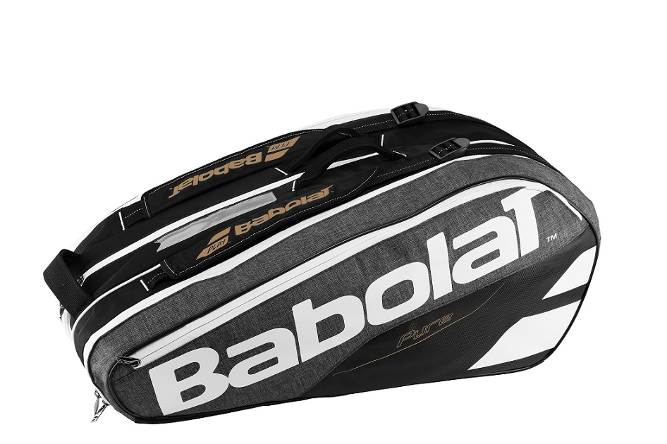 Tenisový bag Babolat Pure Racket Holder X9 grey 2017