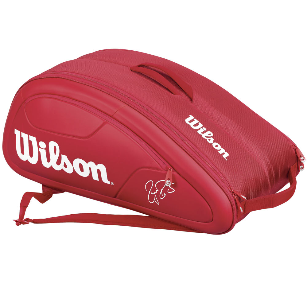 Tenisový bag Wilson Federer DNA 12 Pack Red