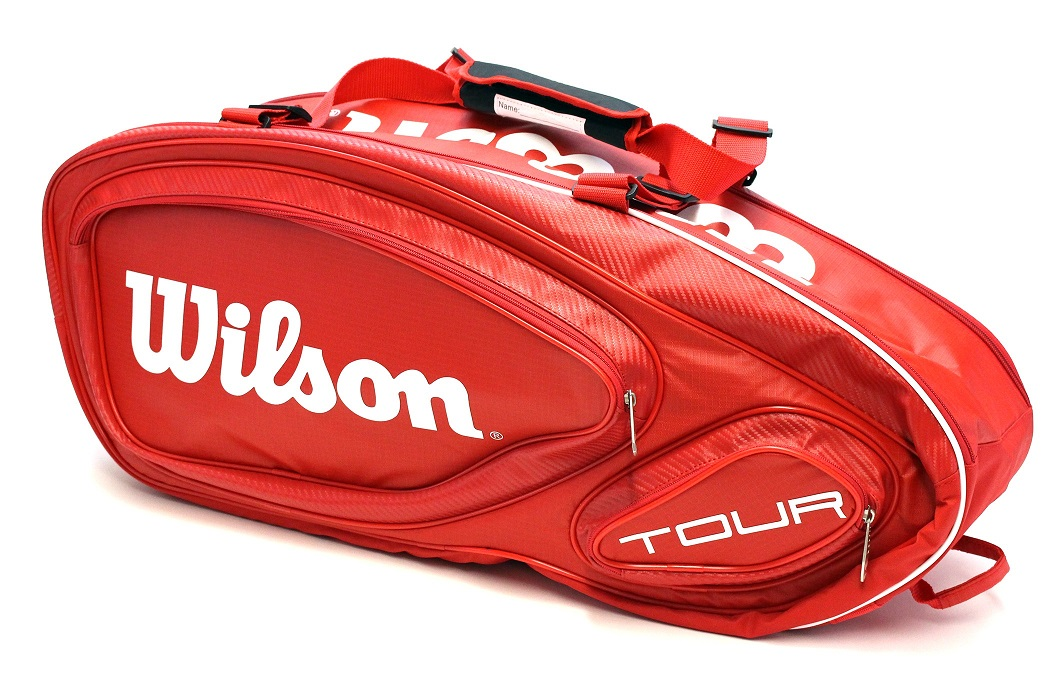 Tenisový bag Wilson Tour V9 Pack Red 2016