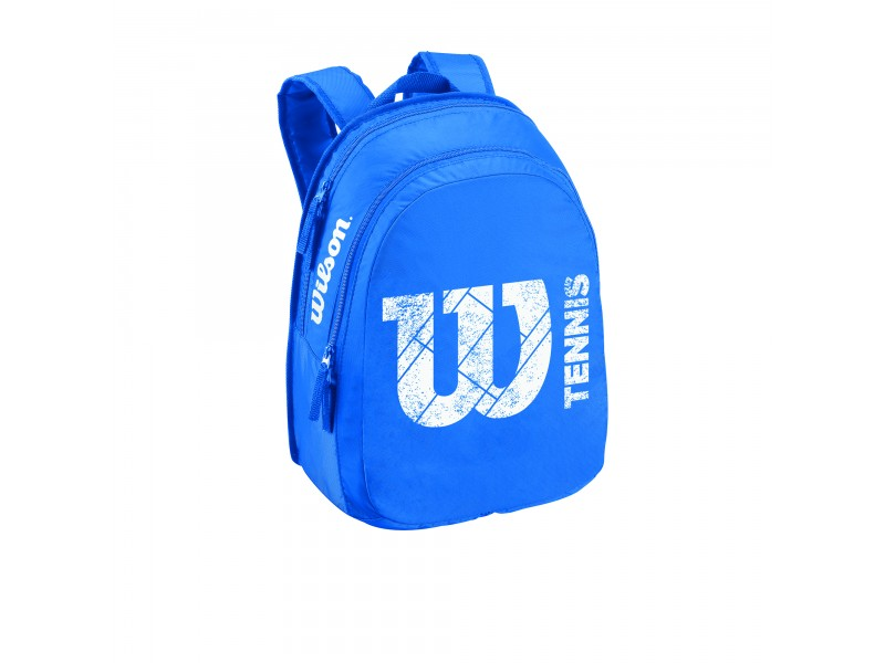 Tenisový batoh Wilson Match junior backpack Blue 2015
