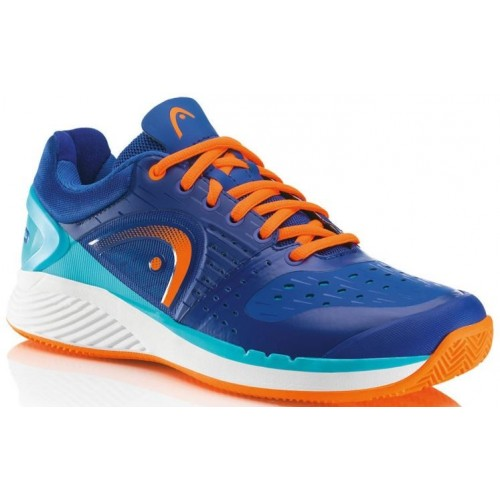 Tenisová Obuv HEAD Sprint Pro Clay Court blue/shocking orange EUR 46 (UK 11)