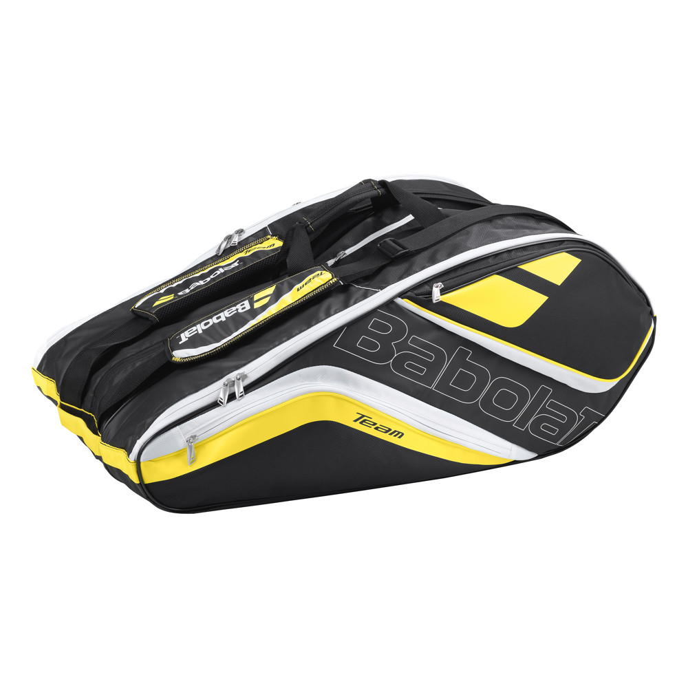 Tenisový bag Babolat Team Line Racket Holder X12 - Yellow 2016