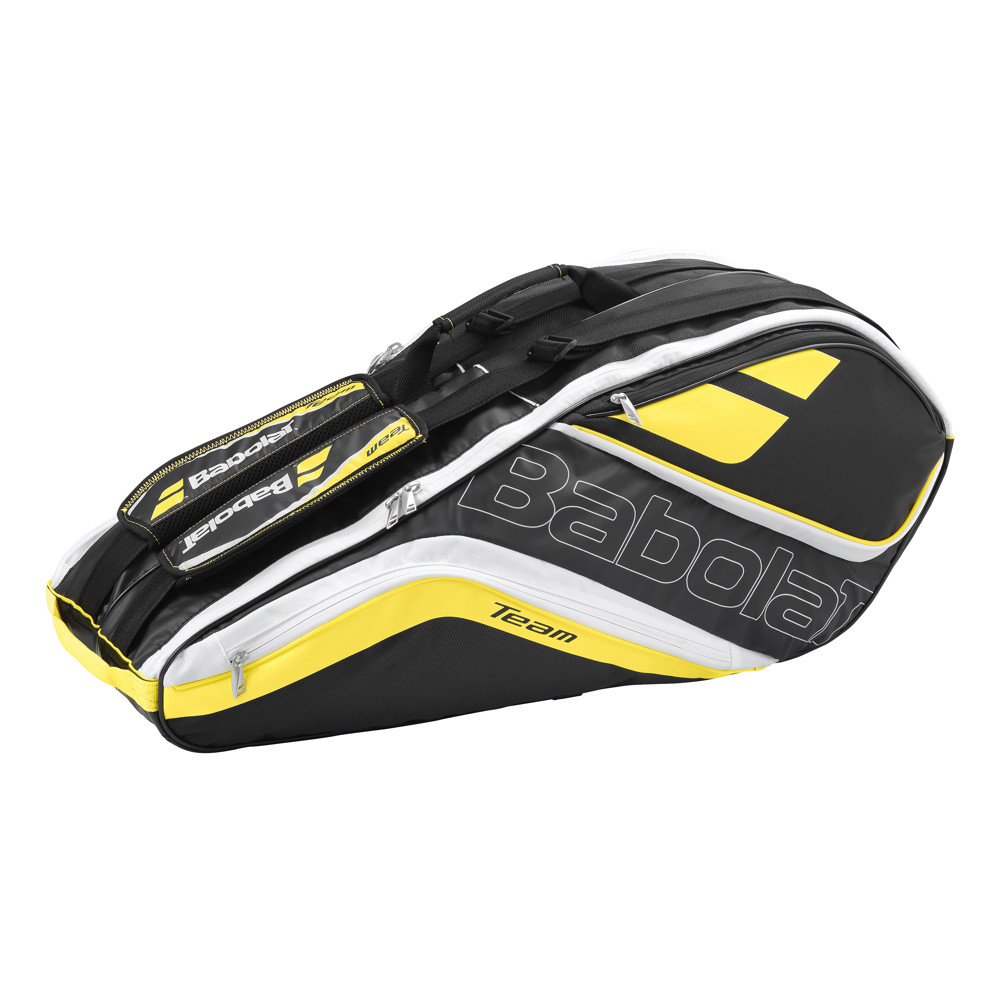 Tenisový bag Babolat Team Line Racket Holder X6 - Yellow 2016
